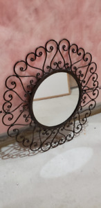 Decorative Metal Frame Wall Mirror
