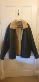 As new: Men's Leather Jacket from Lakeland
