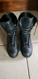 work or motorcycle boots size 9