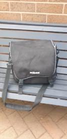 Camera bag and tri pod