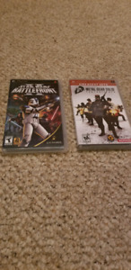 Great condition PSP games