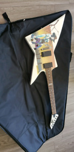 Ltd ex outlaw electric guitar