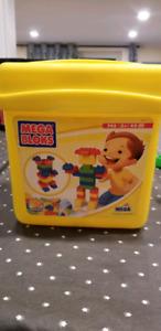 MEGA BLOKS jeu de construction cube enfant