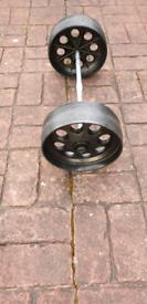WASTEMASTER SPARE WHEELS CARAVAN OR MOTORHOME
