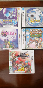 TONS of Nintendo 3DS and DS games