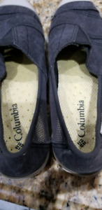Ladies GUC Columbia slip on shoes, size 9.