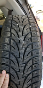 215-60-16 used snows and wheels for  a Chevrolet cruze