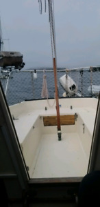 Northern 25 sail boat