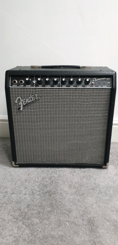 Fender Champion 40 Guitar Amp - As New | in Rodley, West Yorkshire | Gumtree