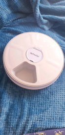 AUTOMATIC TIMED PET FEEDER 6 DAY MEAL