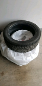Pair 245/45/r18 Michelin Xice 3's