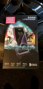 Galaxy s8+ pink Lifeproof fre case new