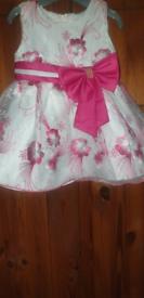 Baby Girls Handmade Dress