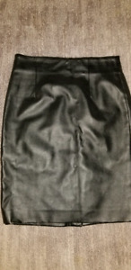 Faux leather skirt size 6