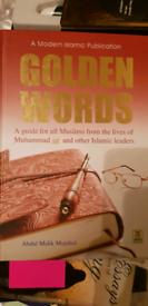 Golden words Islamic book