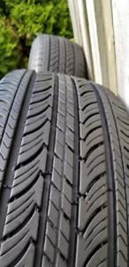 2 Michelin summer tires 195-65-15