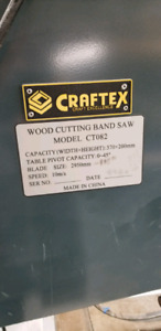 **CRAFTEX** BAND SAW