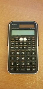 Sharp EL-510 RN Calculator MATH 1505 $10