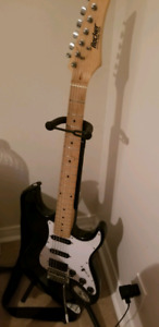 Electric guitar with amp and case!