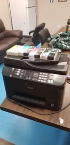 Epson Workforce 4530 w/ Full Set of Ink