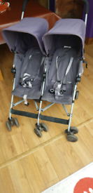 Maclaren Twin Triumph Double Buggy for sale  Leeds, West Yorkshire