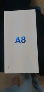 Samsung A8 New in box