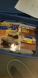"""Revues """" Road and Track """" 1974 à 1991"""