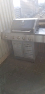 Dyna glo stainless steel barbeque