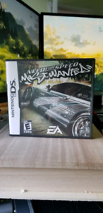 Nintendo DS game - Need for speed most wanted