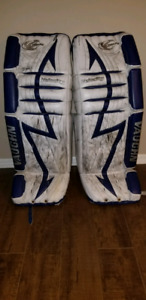Vaughn Velocity Goalie Pads and Gloves