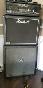 Peavey Valve King half srack tube amp and Marshall 1926 2x12 cab