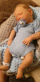 Full body silicone baby reborn doll