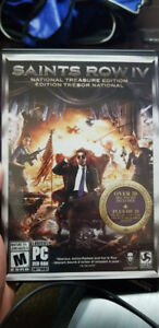 Pc Games - Saints Row IV National Treasure Edition Brand New!