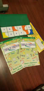 THINK IT THROUGH TILES 4 BOOK HOMESCHOOL EDUCATION LEARN PHONICS
