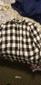 Woman's flannel shirt size large