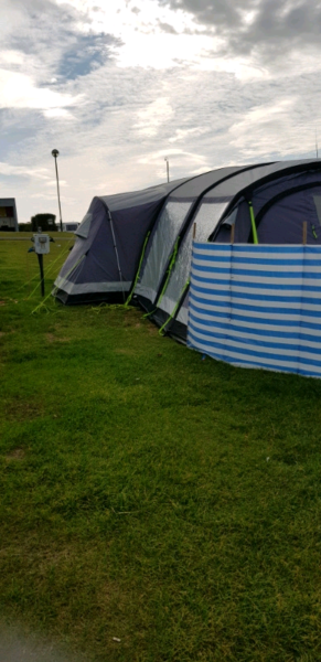 Air Tent Kampa Bergen Pro Air 6 Air Tent Inflatable Air Tent As New  for sale  Selby, North Yorkshire