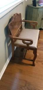 Vintage Deacon Bench