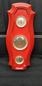 Vintage Barometer, Thermometer, Humidity Weather Station