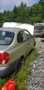 2000 Toyota Echo parts for sale