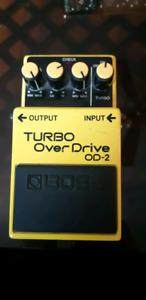 Boss OD-2 Turbo Overdrive Vintage 1987 MIJ Japan