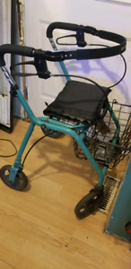 Walker for mobility challenged