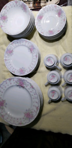 Fine China plates and cups