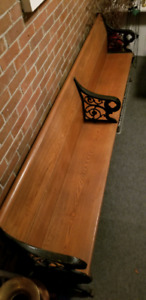 Church pew, 100+ years old