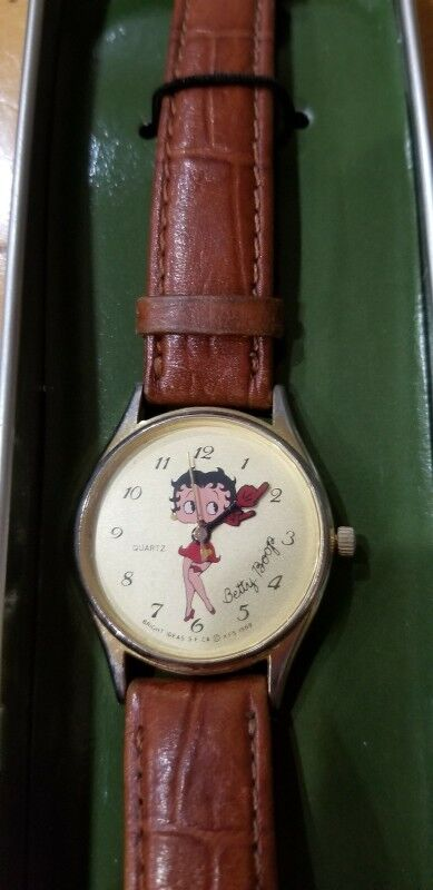 BETTY BOOP LADIES WATCH 1711 OF 10,000 LIMITED EDITION VINTAGE