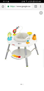 Skip hop exersaucer/activity table  Like new condition***