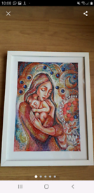 Beautiful mother and child/Mary,Jesus completed diamond Painting