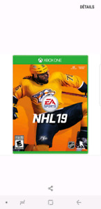 NHL 19 Xbox one neuf