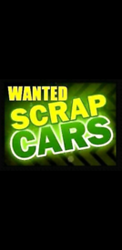 Wanted end of life cars or vans any thing considered