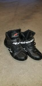 Alpine Stars Motorcycle Shoes, men's Size 10 $120.00