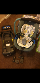 Cosatto port seat, isofix base and buggy adaptors